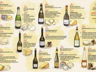 Tokaji borok - magyar sajtok